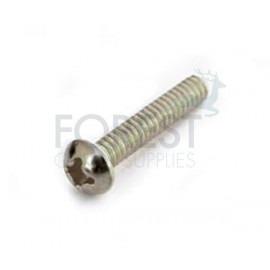 TL guitar pickup screw round head chrome M4x20 mm, unit