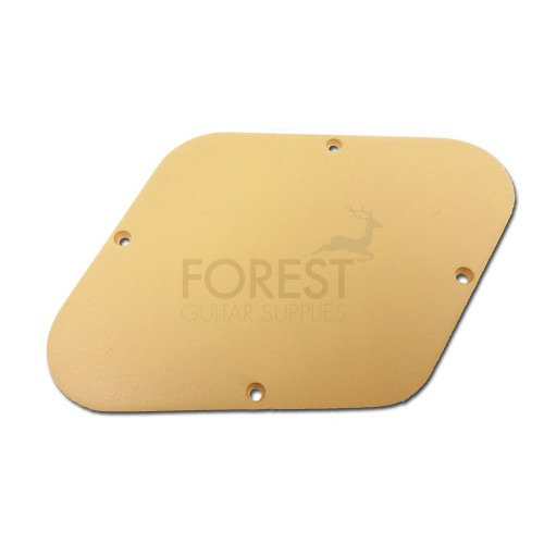Gibson Les Paul ® aftermarket control back cover plate Cream, fits Gibson ® Les Paul ® USA