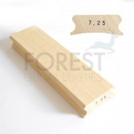 """7.25"""" Guitar fingerboard sanding and gluing radius block - 85x300mm"""