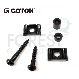 Gotoh RG105-RG130 string retainer Fender ® vintage style black