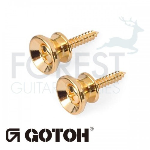 Gotoh strap pin EPB2 Fender Stratocaster ® style, Set of 2, Gold