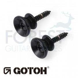 Gotoh strap pin EPB2 Fender Stratocaster ® style, Set of 2, Black
