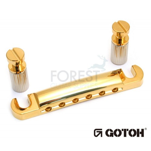 GOTOH Gibson ® style guitar stop tailpiece GE101Z Hard zinc Gold