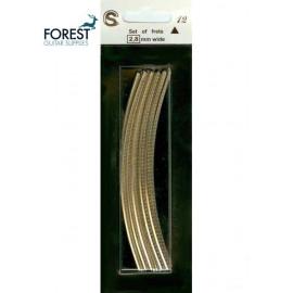 Sintoms ® Nickel silver guitar fretwire 6100 style, IBANEZ ® Super Jumbo set