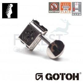 GOTOH SDS510-05M 6L HAPM guitar locking machine heads, nickel vintage style