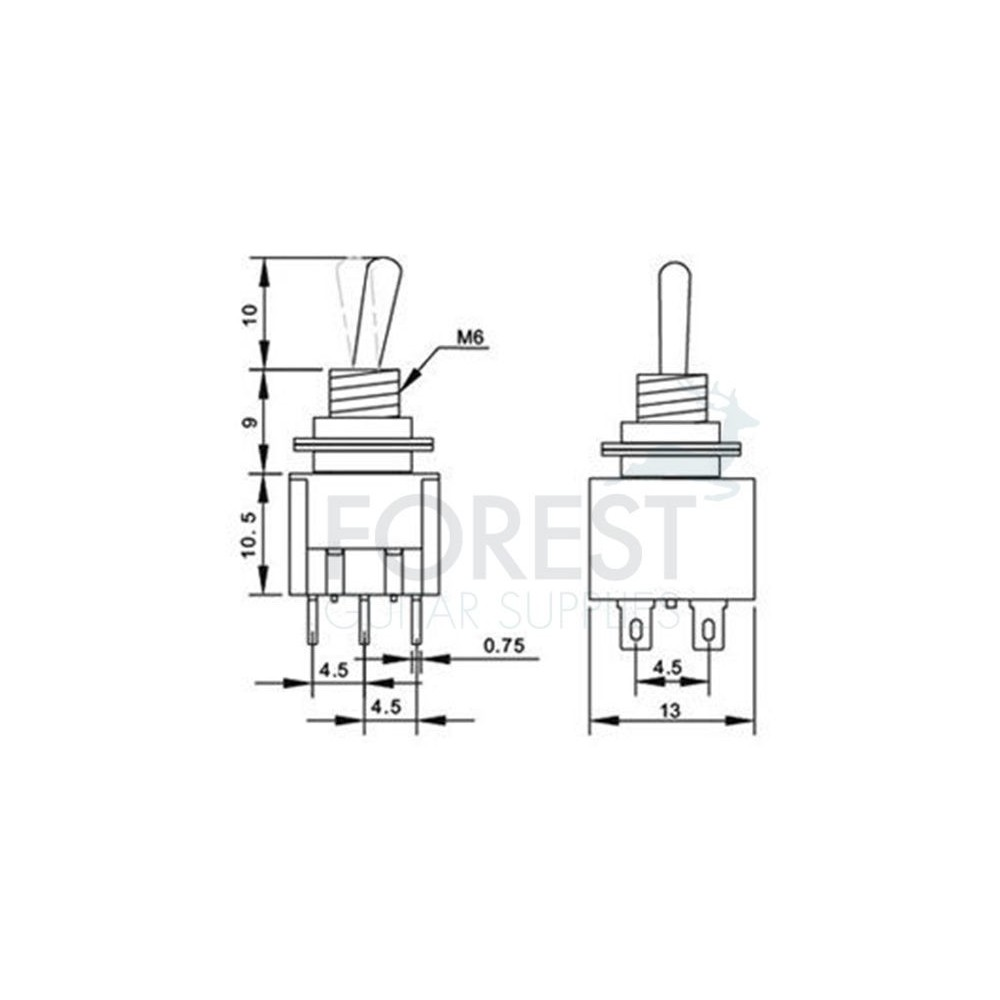 Mini Wiring Diagram Toggle Switch 3 Position Online For Libraries 125vac Dpdt