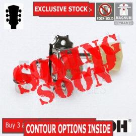 GOTOH SD90-SL MGT 3L+3R guitar machine heads, Nickel, Magnum lock trad