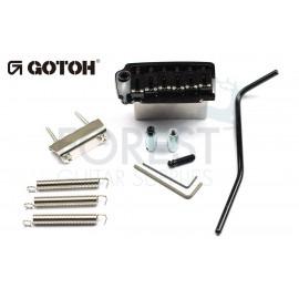 GOTOH EV510T-BS tremolo bridge black, Brass saddle, Two post style