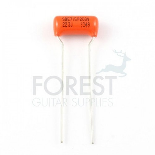 Orange drop guitar capacitor .022 mfd, Sprague® Made in Usa