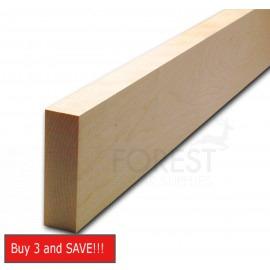 Guitar neck blank American hard maple, plain cut