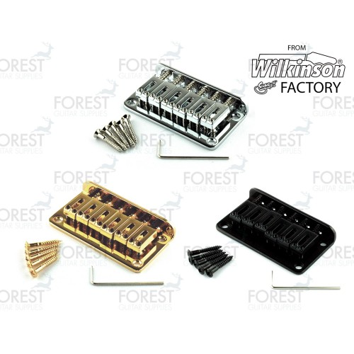 BN-007, Hardtail Fixed style bridge for Telecaster® Stratocaster® guitar