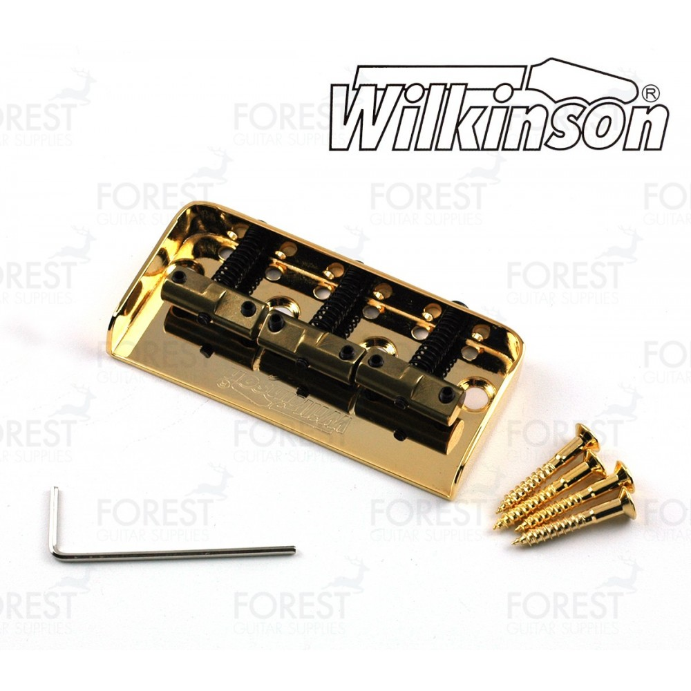 Wilkinson Wtbs Telecaster Short Ashtray Bridge Compensated Wiring Diagram Brass Saddle