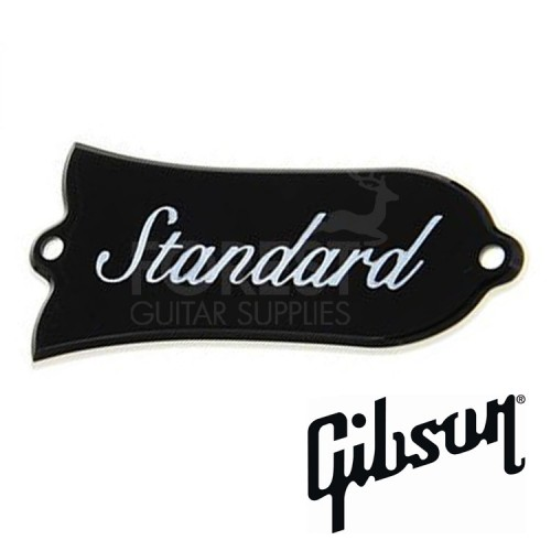 Genuine Gibson ® Bell Truss rod cover plastic 2ply Standard with screws