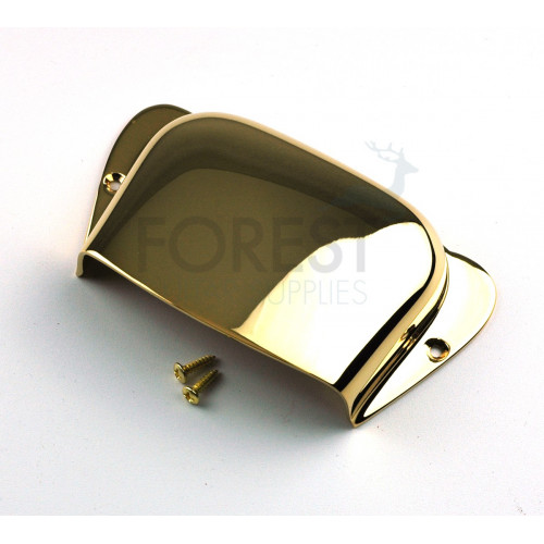 BC2 Precision Bass ® aftermarket bridge cover, gold