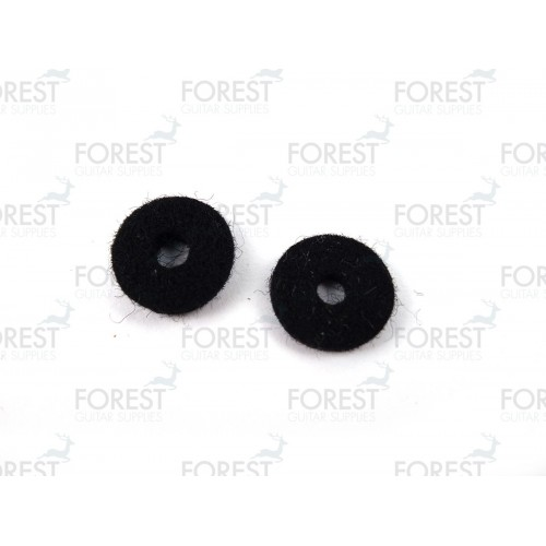 Strap pin felt washer black, set of 2 PF10