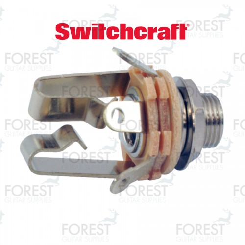 "Switchcraft ® SC12B Jack stereo input 1/4"" inch"