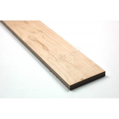 Hard Maple fretboard blank (70x530x8.5mm)