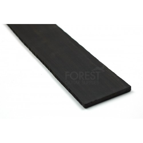 First quality African Ebony fretboard blank (70x530x6-7 mm)