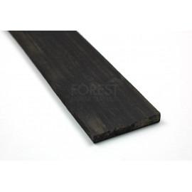 Second quality African Ebony fretboard blank (70x530x6/7 mm)