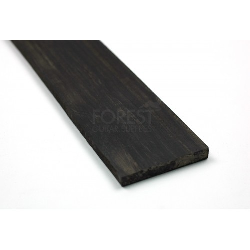 Second quality African Ebony fretboard blank (70x530x6/7 mm)