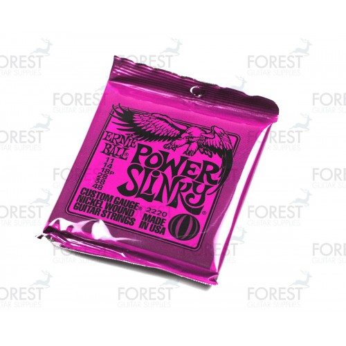 Electric guitar strings set Ernie-Ball 011-048 power Slinky