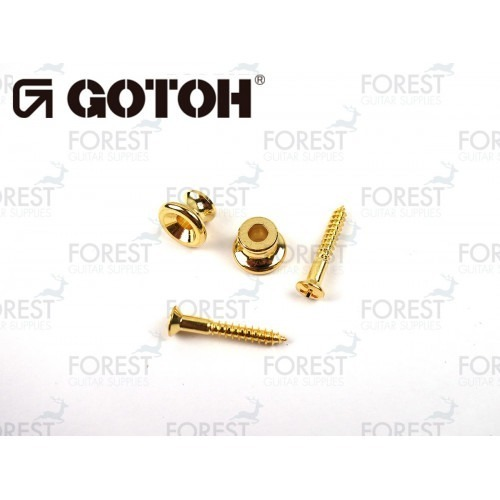 Gotoh strap pin EPB1 Gibson ® style, Set of 2, Gold