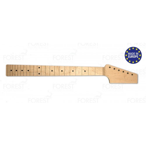 Fender Telecaster ® electric guitar neck Hard maple / Hard maple fretboard, Paddle Head