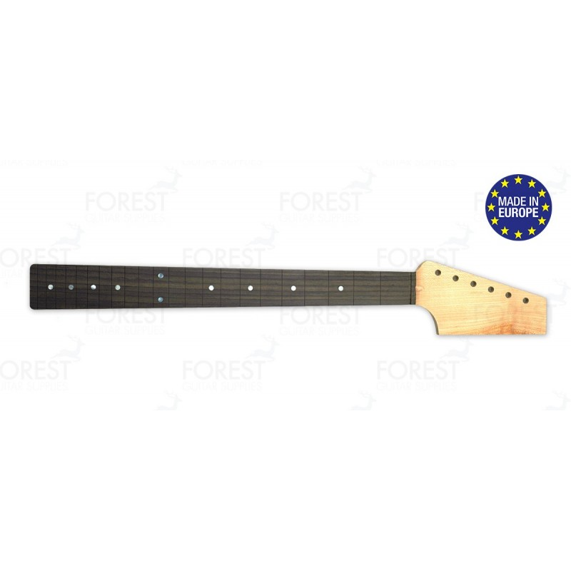 Fender Telecaster ® electric guitar neck Hard maple / Indian Rosewood fretboard, Paddle head