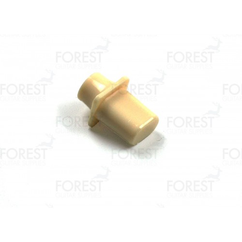 TL 50s style top hat switch tip knob Ivory
