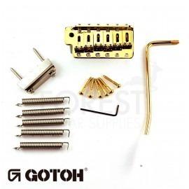 Gotoh GE102T Tremolo bridge Fender Stratocaster ® vintage style, gold