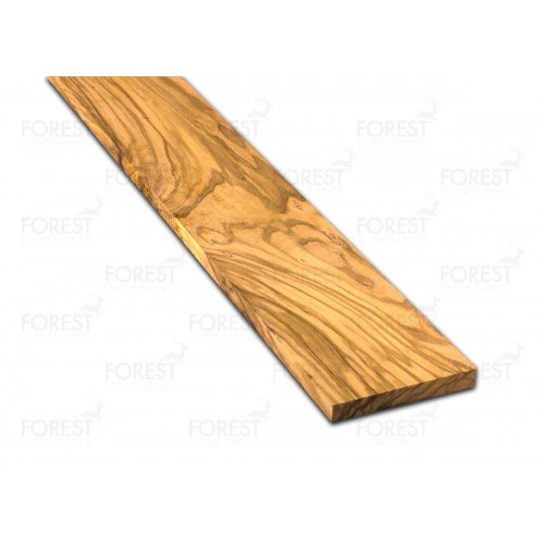 Olive wood fretboard blank (70x520x8 mm)
