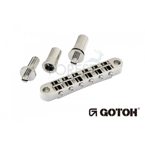 Gotoh GE103B T Tom Nashville style bridge, T stud mount , chrome