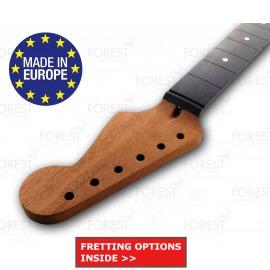 Fender Stratocaster ® Electric guitar neck Honduras Mahogany / Ebony fretboard 12 radius