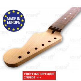 Fender Stratocaster ® Electric guitar neck QS Hard Maple / Indian rosewood fretboard 12 radius