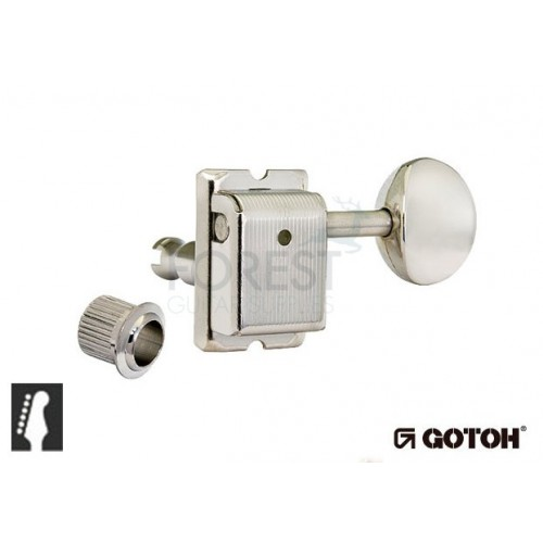 Gotoh SD91-05M 6L guitar machine heads, Nickel Fender ® vintage style