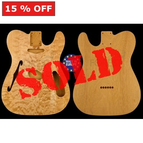 Telecaster THINLINE 69 s Body Electric guitar book matched quilted maple top & Honduras Mahogany, unique