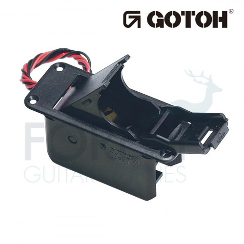 Gotoh BB04 screwed Battery box for 9V batteries with screws