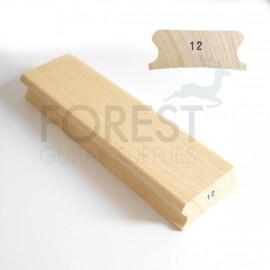 """12"""" Guitar fingerboard sanding and gluing radius block - 85x300mm"""