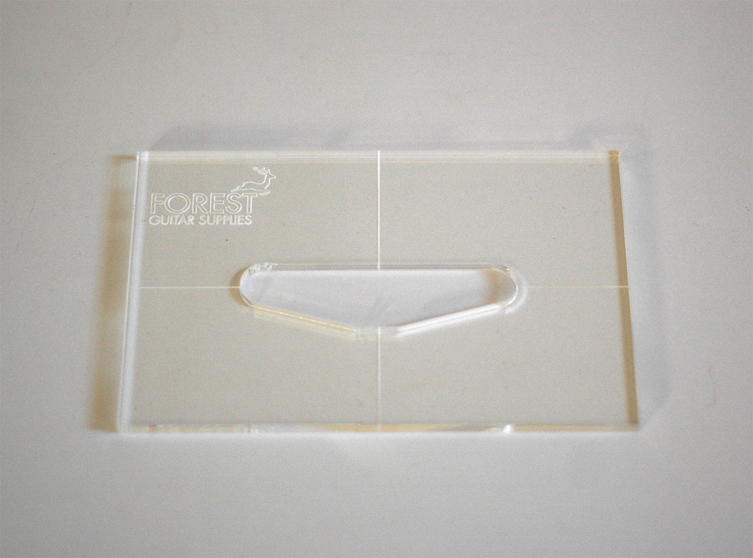 Routing templates - ForestGuitarSupplies