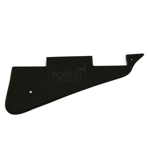 Gibson Les Paul ® aftermarket pickguard black 1 ply