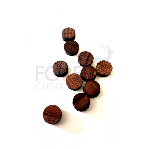 Indian rosewood fretboard inlay dot 6mm, UNIT