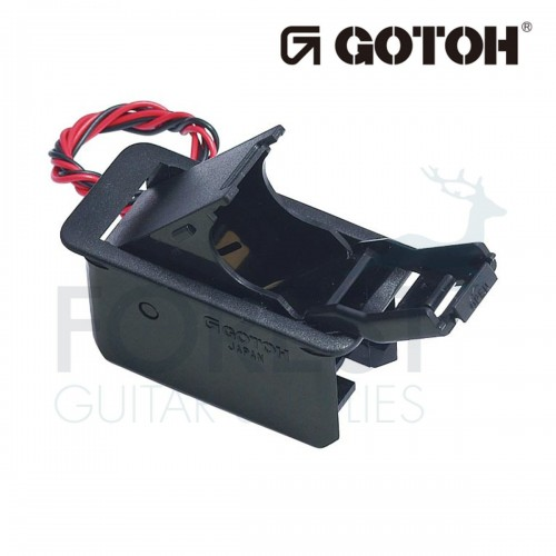 Gotoh BB02 non screwed Battery box for 9V batteries