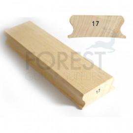 """17"""" Guitar fingerboard sanding and gluing radius block - 85x300mm"""