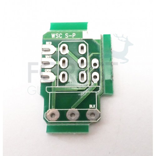 PCB circuit board for Push/pull guitar potentiometer, Serial / Parallel