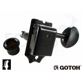 Gotoh SD91-05M 6L guitar machine heads, Black vintage style