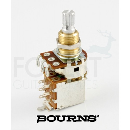 Bourns Audio taper/ Logarithmic Push/pull 250k pot