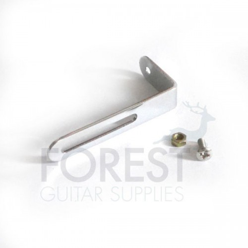 Gibson style Pickguard mounting bracket-Chrome