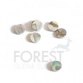 Abalone guitar fretboard inlay dot 6mm, unit