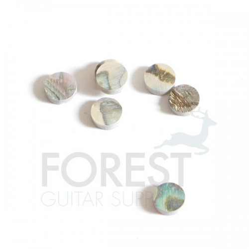 Abalone guitar fretboard inlay dot 6mm, unit