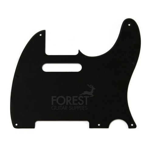 Fender Telecaster ® ABS Pickguard, Black 1 Ply, 5 holes, vintage '50s Style